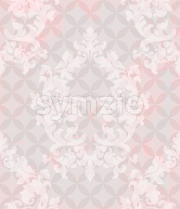 Vintage pattern vector. Classic ornament elegant structure retro theme decor. abstract background Stock Vector