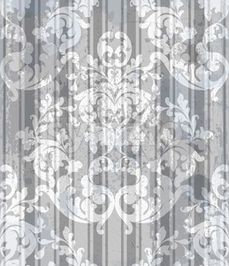 Vintage Baroque style background Vector. Luxury Delicate Classic ornament. Royal Victorian floral decor for birthday card, wedding invitation, textile Stock Vector