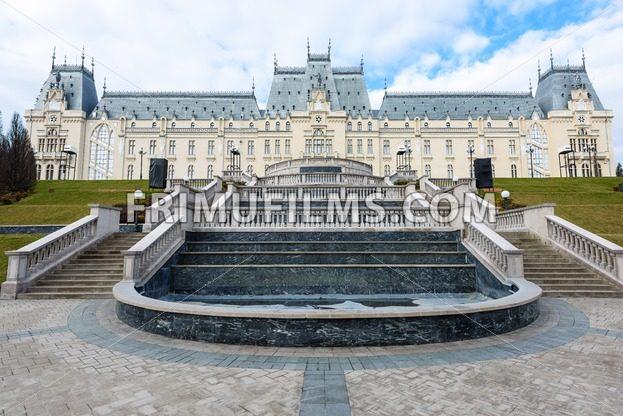 Beautiful palace in Iasi city, Romania - frimufilms.com