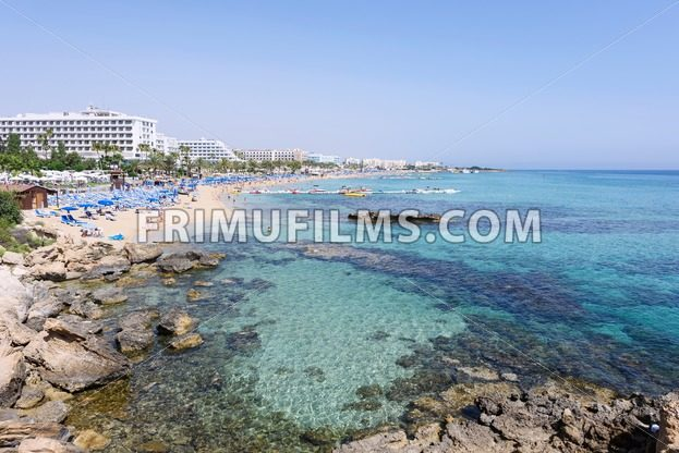 Photo of sea and fig tree bay beach in protaras - frimufilms.com