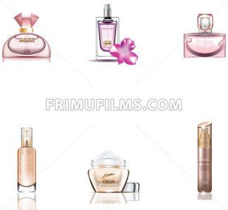 Cosmetics Packages 3d design set - frimufilms.com