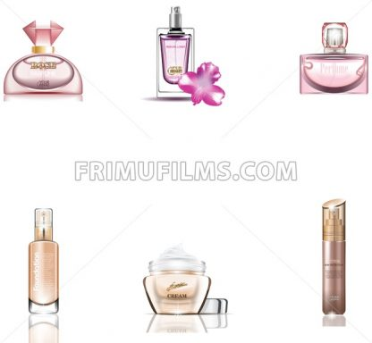 Cosmetics Packages 3d design set - frimufilms.com