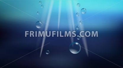 Digital vector abstract empty dark ocean blue - frimufilms.com