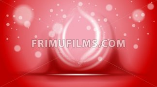 Digital vector abstract empty red background - frimufilms.com