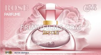 Perfume bottle Cosmetic mock up - frimufilms.com