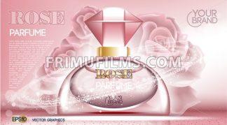 Perfume bottle Cosmetic mock up - frimufilms.com