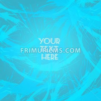 Abstract blue design with your text here big brush strokes. Digital vector image - frimufilms.com