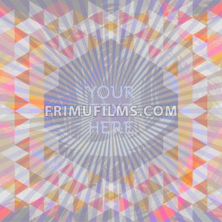 Abstract dark design with your text here and colored triangles. Digital vector image - frimufilms.com