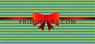 Vector Oktoberfest beer festival with a red gift ribbon, flat style. - frimufilms.com