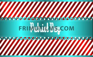 Vector Patriot Day, with blue and red stripes and blue ribbon over silver background. - frimufilms.com