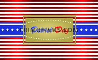 Vector Patriot Day, with blue and red stripes and stars over white background. - frimufilms.com