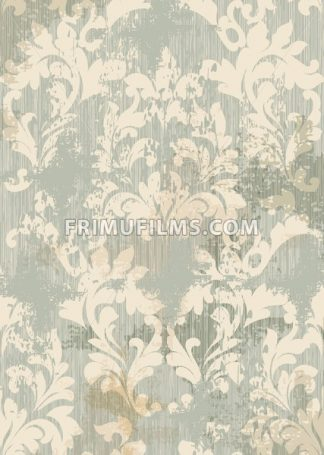 Baroque intricate pattern design. Luxury classic ornament background Vector decor - frimufilms.com