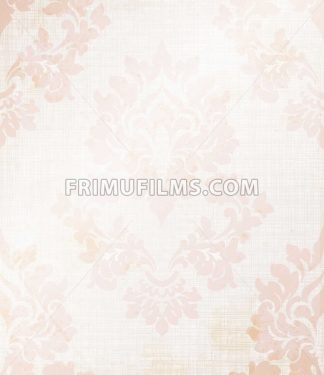 Baroque royal pattern fabric. Vector damask ornament texture design - frimufilms.com