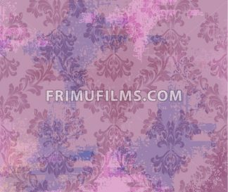 Classic ornament decor background Vector. Baroque intricate design. Texture, fabric elements illustration - frimufilms.com