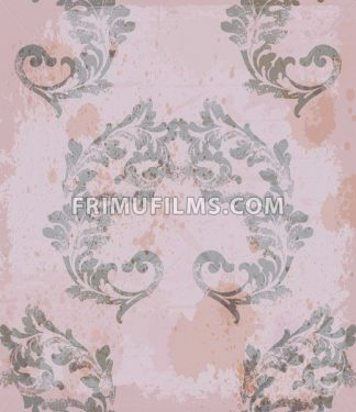 Classic royal pattern fabric. Vector damask ornament texture design - frimufilms.com