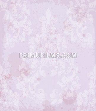 Damask pattern Vector illustration handmade ornament decor. Baroque background texture - frimufilms.com
