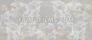 Grunge paper Damask pattern ornament decor Vector. Baroque fabric texture illustration design - frimufilms.com