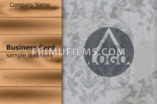 Logo design template layout Vector. Ornamented background - frimufilms.com