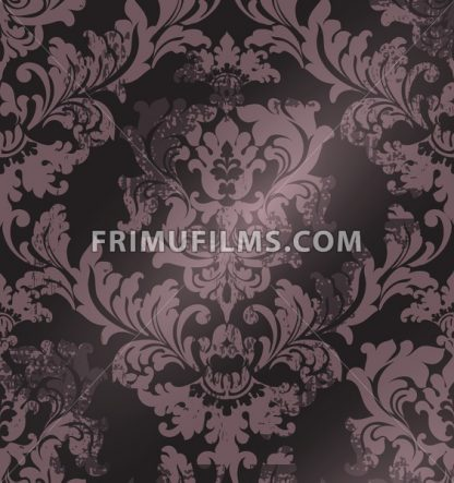 Luxury classic ornament on grunge background Vector. Baroque intricate design illustration - frimufilms.com