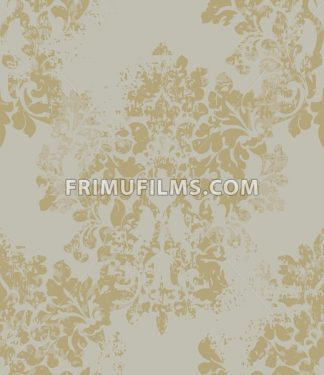 Ornament on grunge background Vector. Baroque intricate design illustration - frimufilms.com