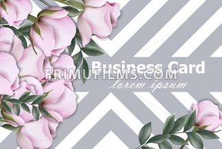 Vintage roses background Vector. Retro geometric stripes texture layout illustration - frimufilms.com