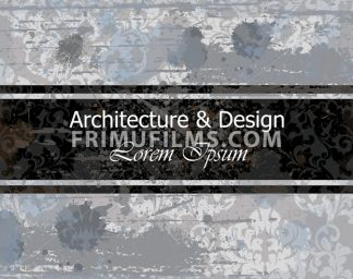 Architecture and Design Business card old paper background Vector illustrations - frimufilms.com