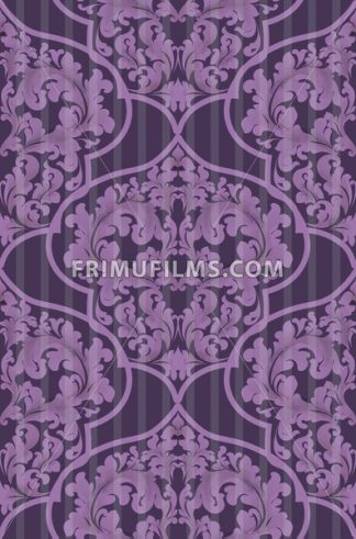 Baroque seamless pattern Vector. Trendy ultra violet color - frimufilms.com