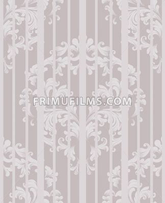 Vintage Damask Seamless pattern Vector. Luxury ornament elegant structure retro theme decors. beige color - frimufilms.com