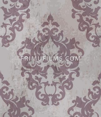 Vintage Luxury texture pattern Vector. Old paper ornament decor. Textile, fabric, tiles trendy decor - frimufilms.com