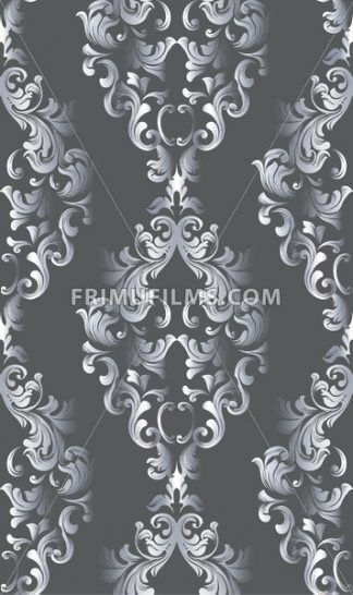 Vintage old paper texture Vector. Luxury baroque pattern wallpaper ornament decor. Textile, fabric, tiles. Dark colors - frimufilms.com