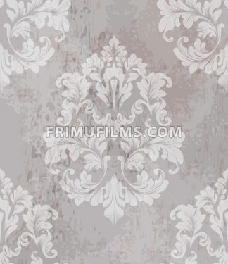 Vintage old paper texture Vector. Luxury baroque pattern wallpaper ornament decor. Textile, fabric, tiles. Nude color - frimufilms.com