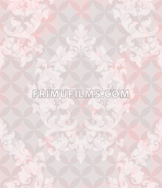 Vintage pattern vector. Classic ornament elegant structure retro theme decor. abstract background - frimufilms.com
