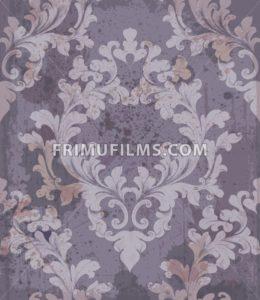 Baroque purple background Vector illustration decor. Royal texture victorian ornament - frimufilms.com
