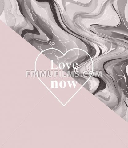 Luxurious card with stone pattern. Marble texture and pink abstract combination - frimufilms.com