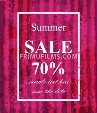 Summer sale template Vector. Watermelon texture background. Fucsia trendy color - frimufilms.com