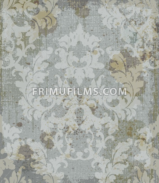 Vintage Baroque Style Background Vector Luxury Delicate Classic Ornament Royal Victorian Floral Decor For