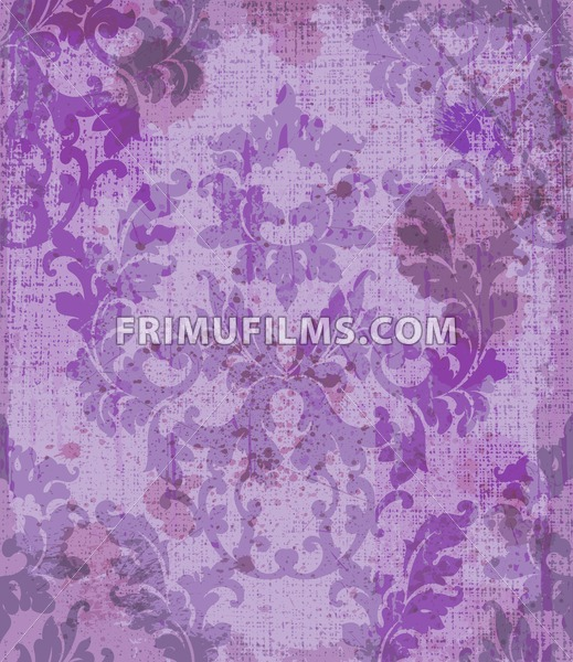 Vintage Baroque style background Vector. Luxury Delicate Classic ornament. Royal Victorian imperial decor - frimufilms.com