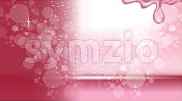 Digital Vector Abstract Pink Background Stock Vector
