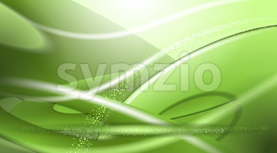 Digital vector abstract empty green background Stock Vector