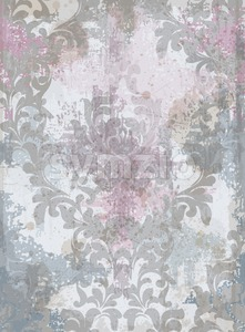 Luxury classic ornament background Vector. Baroque intricate pattern design grunge decor illustration Stock Vector