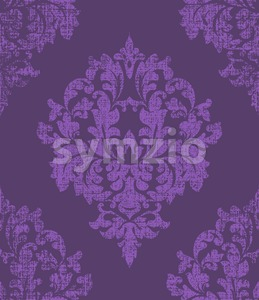 Luxury classic ornament background Vector. Baroque intricate design illustration Stock Vector
