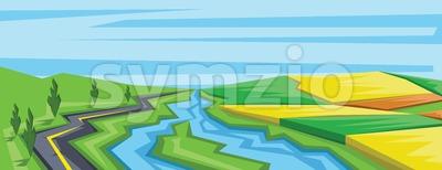 Digital vector abstract background Stock Vector