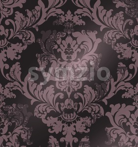 Luxury classic ornament on grunge background Vector. Baroque intricate design illustration Stock Vector