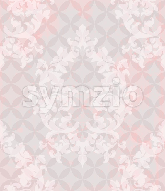 Vintage pattern vector. Classic ornament elegant structure retro theme decor. abstract background