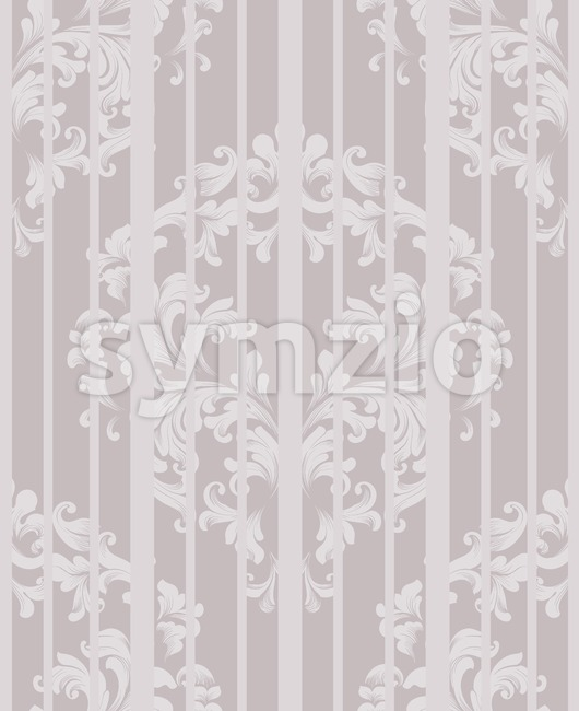 Vintage Damask Seamless pattern Vector. Luxury ornament elegant structure retro theme decors. beige color Stock Vector