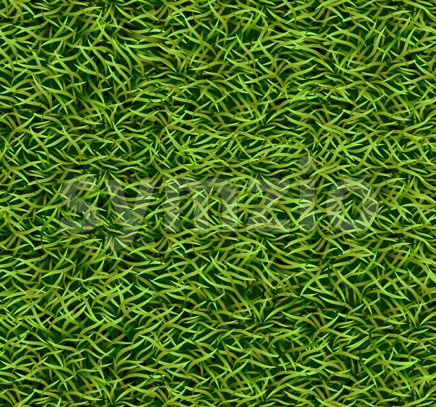 Green grass background Vector. Realistic template illustration Stock Vector