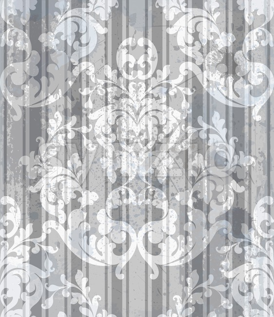 Vintage Baroque style background Vector. Luxury Delicate Classic ornament. Royal Victorian floral decor for birthday card, wedding invitation, textile print, ...