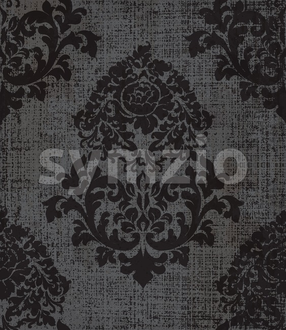 Elegant baroque pattern background Vector. Rich imperial decor. Royal victorian texture Stock Vector