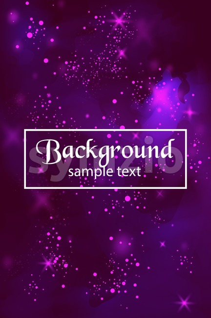 Lights Blur background Vector. ultra violet trendy color Stock Vector